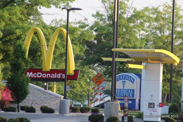 McDonald's bans students