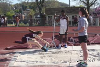 High School track meet