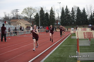 Track team pushes through season