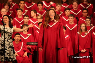 Eighth and ninth grade spring chorus concert