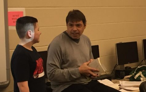 Grant brings award winning author Paul Volponi to work with seventh grade students