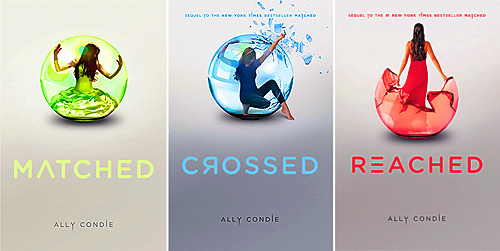 The Matched trilogy Matched, Crossed, and Reached