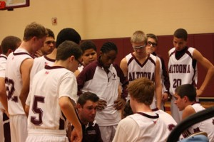 Altoona white basketball team starts season with four wins and one loss