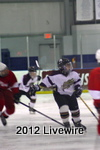 Junior varsity hockey players face Frazier, winning 8-0.