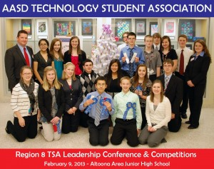 Technology Student Association (TSA) competes to go to states, possibly nationals