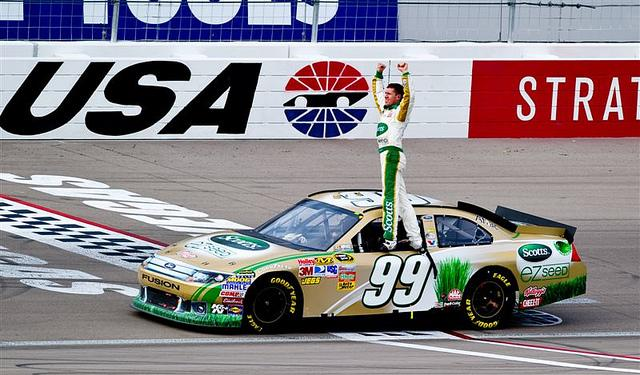 Carl+Edwards+getting+ready+to+do+his+famous+back+flip+after+winning+a+race.%0D%0APhoto+courtesy+of+Maverick+Helicopters