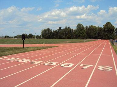 Ninth grade boys, girls start track