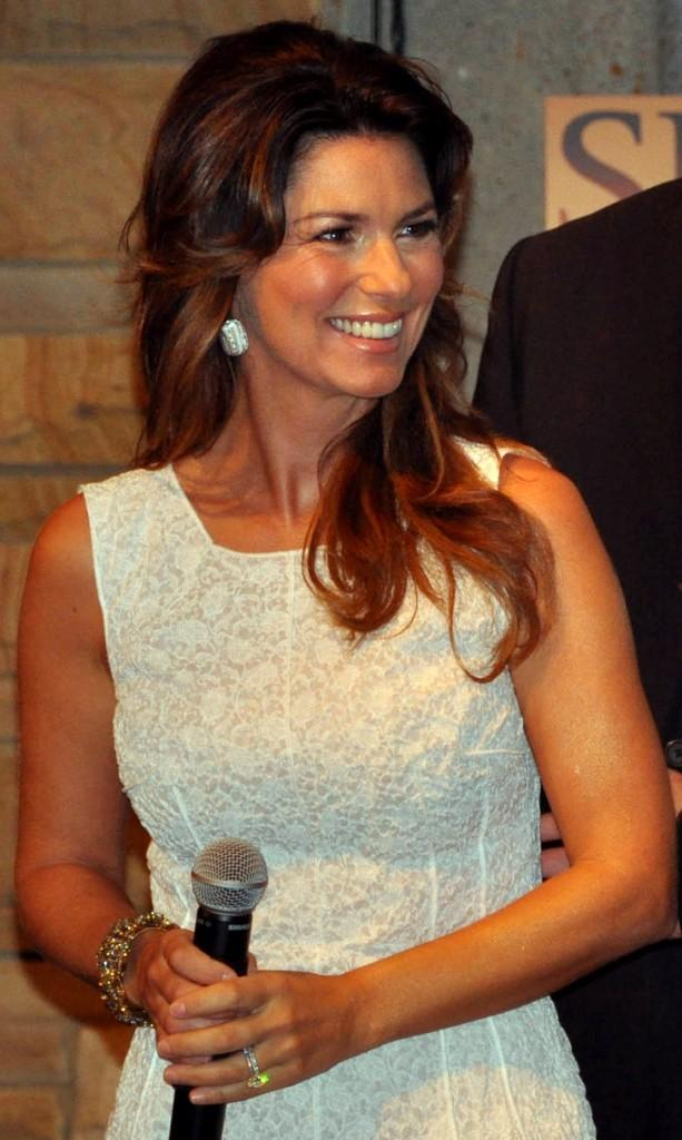 The Canadian country pop singer/songwriter, Shania Twain. http://commons.wikimedia.org/wiki/File:ShaniaTwainJune2011.jpg