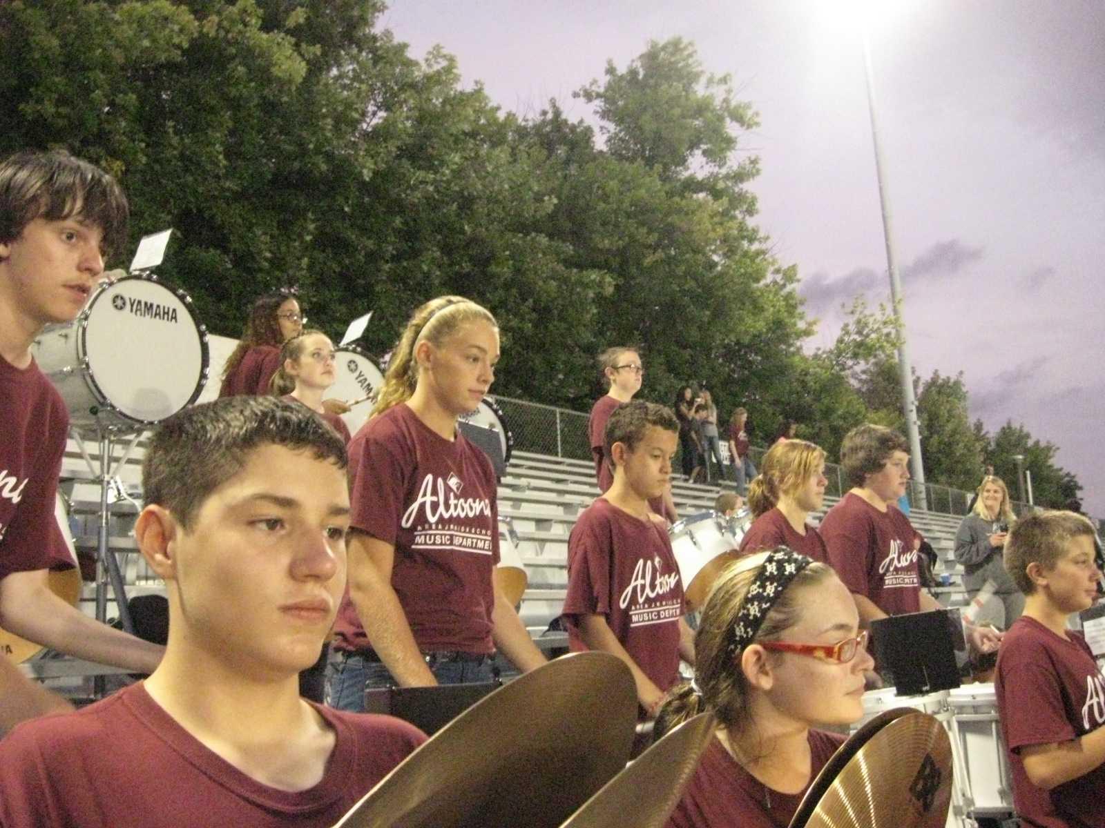 Drummers rock!