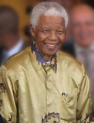 Nelson Mandela- Photo courtesy of Creative Commons- http://commons.wikimedia.org/wiki/File:Nelson_Mandela-2008.jpg