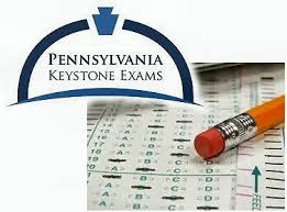 The Keystones are standardized tests. Students must pass them in order to graduate.