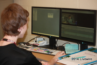 Broadcasting class works to create monthly Junior Paw Productions