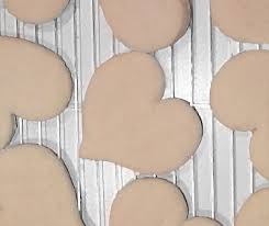 This is the finished product of the heart shaped cookies.   They don't have icing on but that is optional to use. Photo by: April Leandri