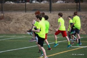 New track athletes adjust to beginning season