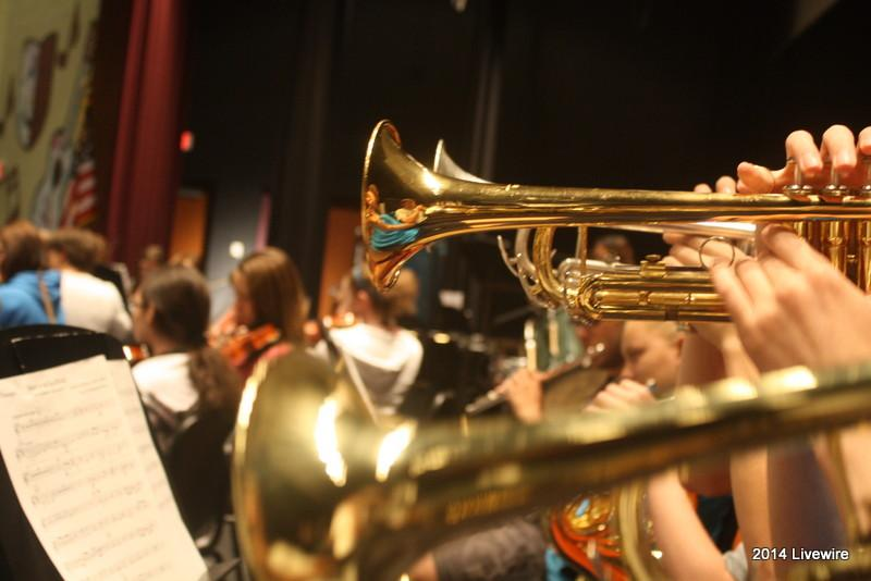 The+symphonic+orchestra+has+six+trumpets.+They+are%3A+Christian+Wilkins%2C+Alyssa+Detwiler%2C+Becca+Gallace%2C+Tyler+Rispoli%2C+Gavin+Williamson%2C+and+Michael+Stumpf.+These+trumpets+are+ninth+graders+and+this+is+their+second+year+in+symphonic+orchestra.%0APhoto+by+Becca+Gallace