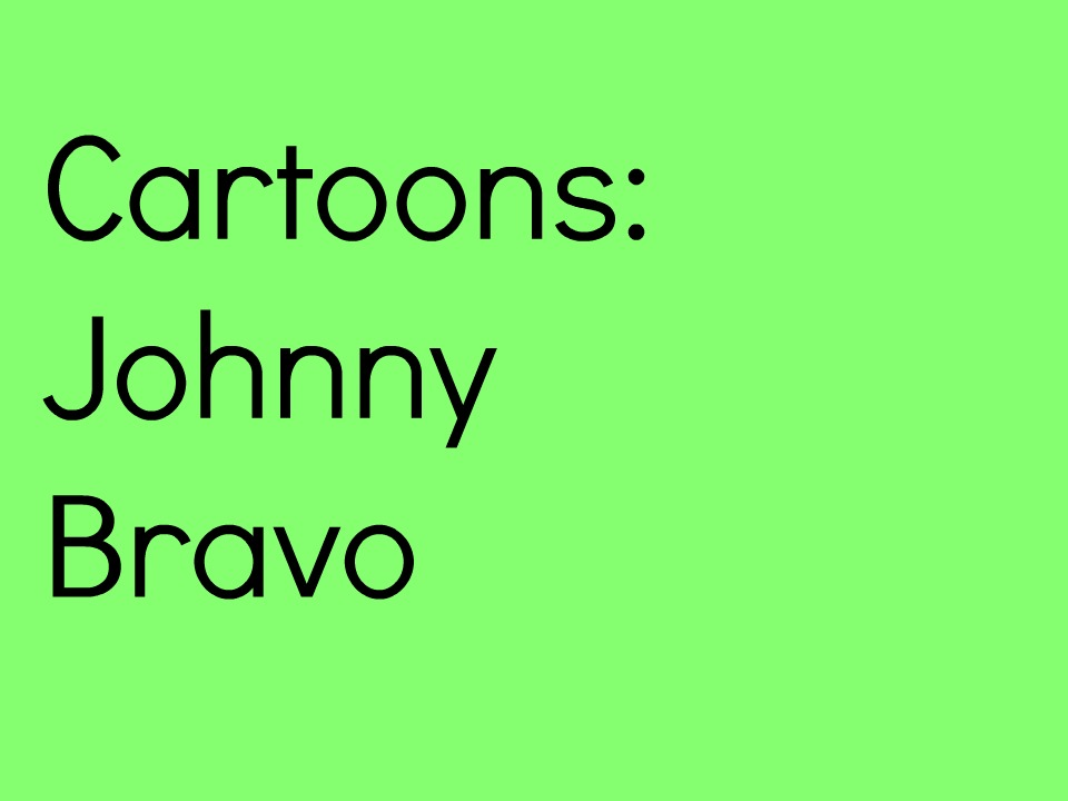 This+week%27s+throwback+is+Johnny+Bravo%21+Photo+by%3A+Lynsey+Davis.+