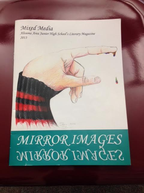 Literary magazine publishes student work