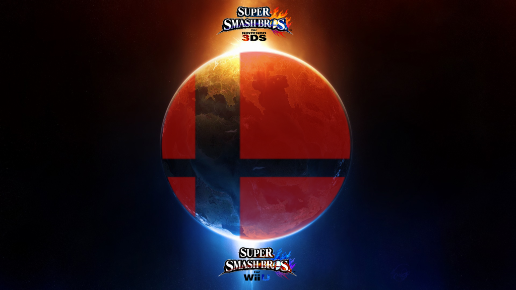 courtesy of http://thewolfbunny.deviantart.com/art/Super-Smash-Bros-Wii-U-3DS-Logo-Wallpaper-8-429497947