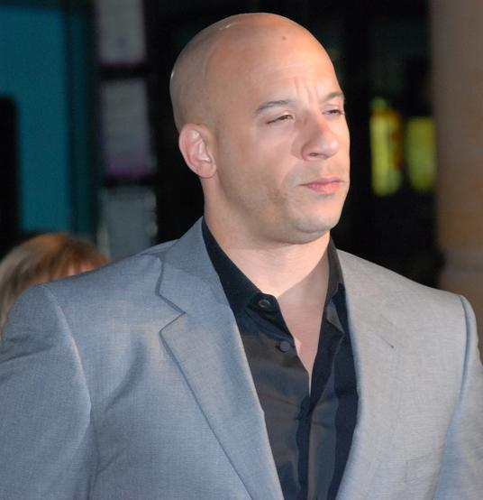Vin Diesel, Photo courtesy of http://commons.wikimedia.org/wiki/File:VinDieselMarch09.jpg