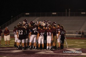Ninth grade football season comes to end