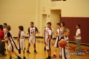 JV boys' basketball teams finish-up their seasons