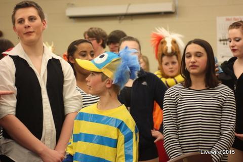 Drama photo courtesy of Emily Simmons.
