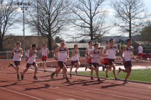 Track teams impress early in season:  Seventh, eighth take first in multiple meets