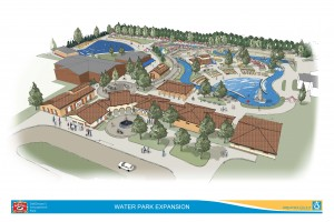 Here is a the lay out of the new water park coming for 206. Their goal is to open on memorial day next year.