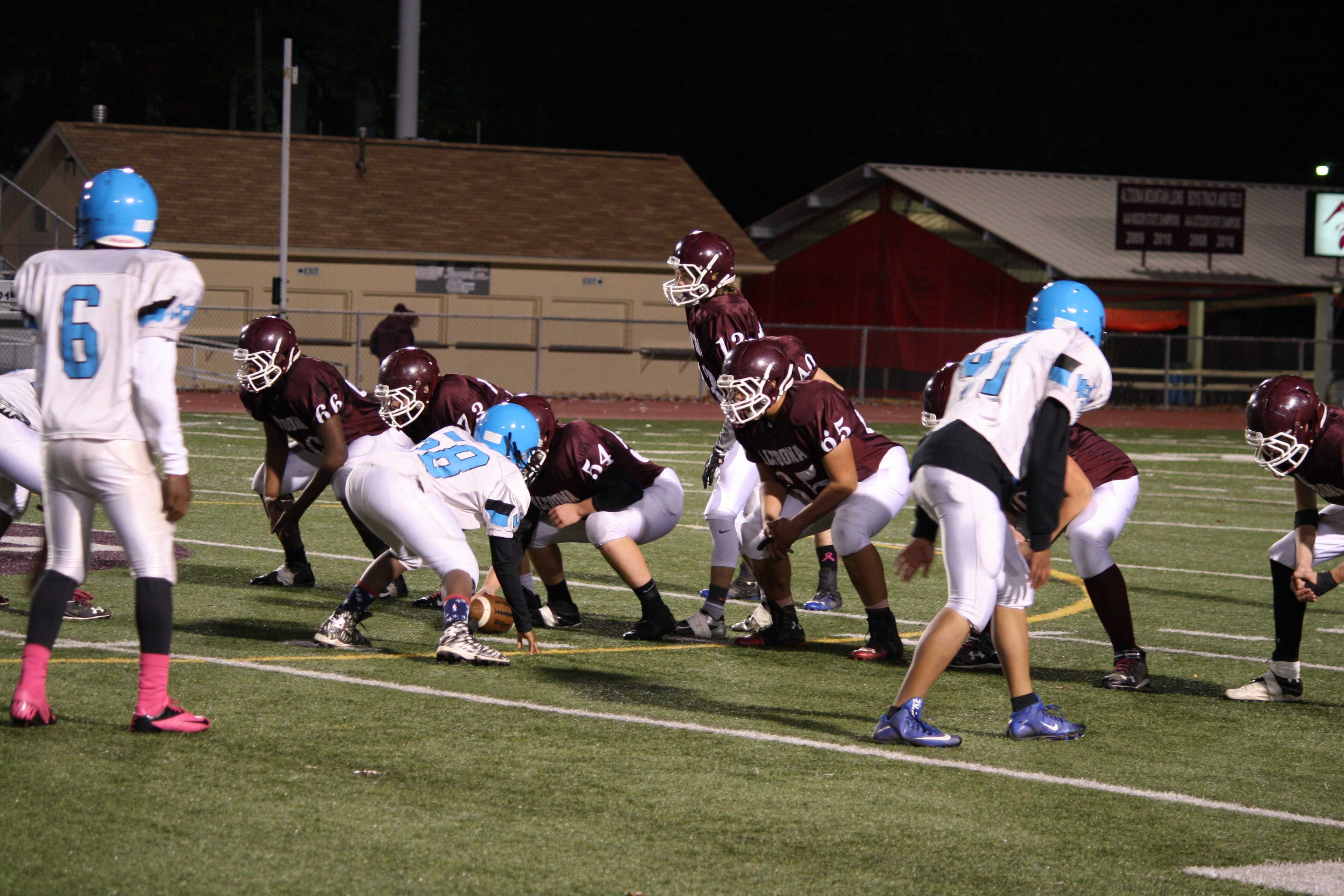 Players tackle their way to finish