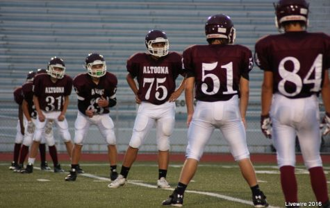 Varsity football team hopes to improve record