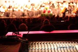 Sounds Great! Director of lights and sound J. Hamel played a huge part in the holiday orchestra concert. J. Hamel is a very important member of the music department, he does light and sound for all the concerts.