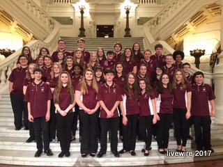 Musicians perform at capital building