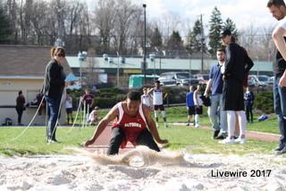 Ninth grade track meet April 4, 2017