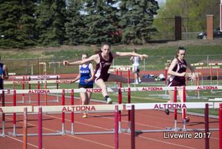 Ninth grade track meet April 18, 2017