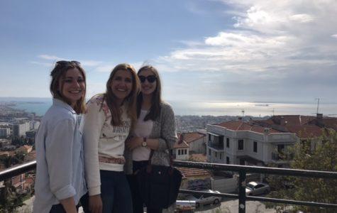 Miss Bauer in Greece