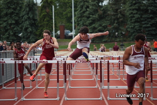 Ninth grade track athletes compete at districts