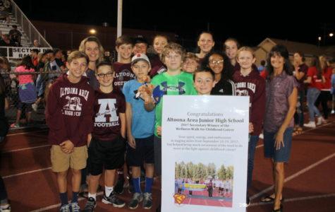 Brian Morden Foundation recognizes gold winning school