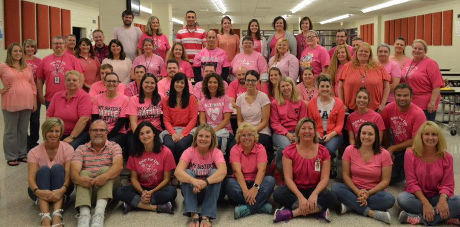 Faculty Pink Out