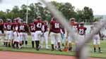 The freshman football team runs franticly around on the sideline as the game officially starts. Latrobe was no match for them, Altoona was on top of their game at their game Saturday September, 2nd.