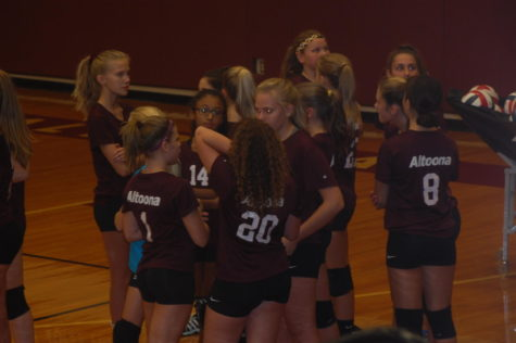 Volleyball goes up against Northern Cambria in last game