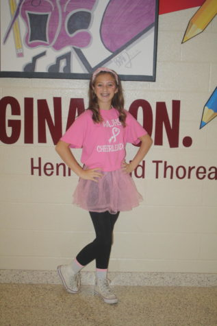 Faculty, students support pink out game
