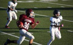 Junior varsity football players share experiences