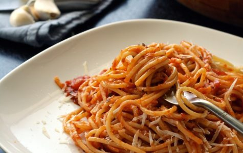 Spaghetti is a family favorite meal that is good any day of the week!