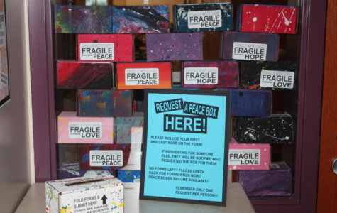 Editorial:  Painted boxes spread happiness