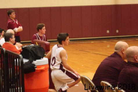 Ninth grade White Basketball Team 1-10-18