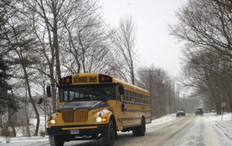 Because of the weather, two hour delays and cancellations have been scheduled. The makeup days are feb. 15 and April 2.