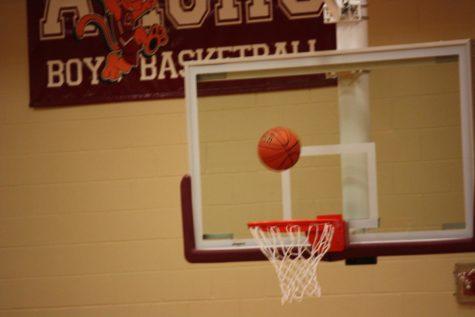 Seventh grade white girls' basketball 1-29-18
