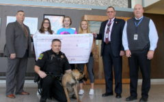 Hat day helps fundraise money for K-9 unit
