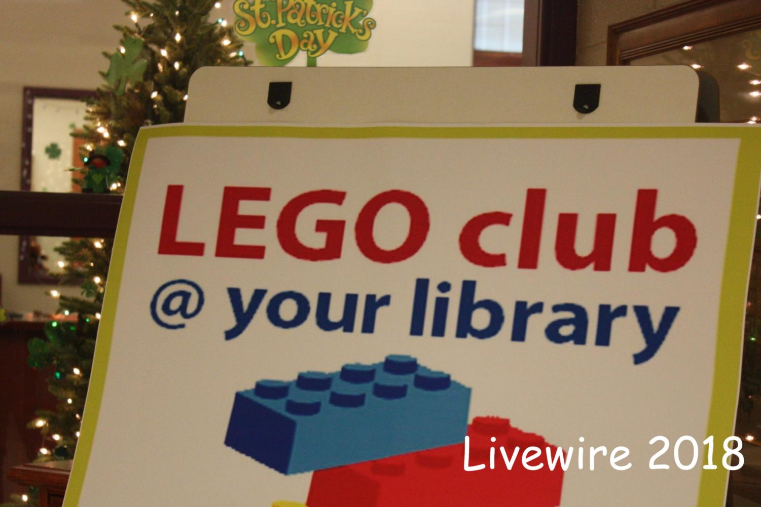Welcome! Students recently attended a lego club event. Students were allowed to build what ever they wanted