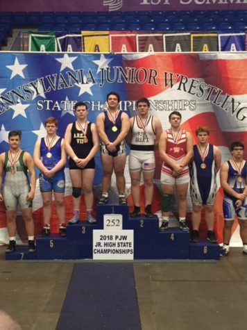 Ninth grade student Trevor Manley placed at the state tournament this year.